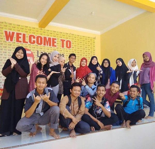 siswa siswa kampung inggris lc