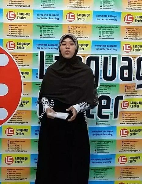 Alumni LC Kampung Inggris Nanis Nurhidayah