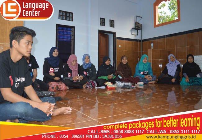 alumni beasiswa TOEFL Intensive LC kampung inggris