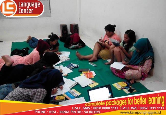 belajar santai camp kampung inggris