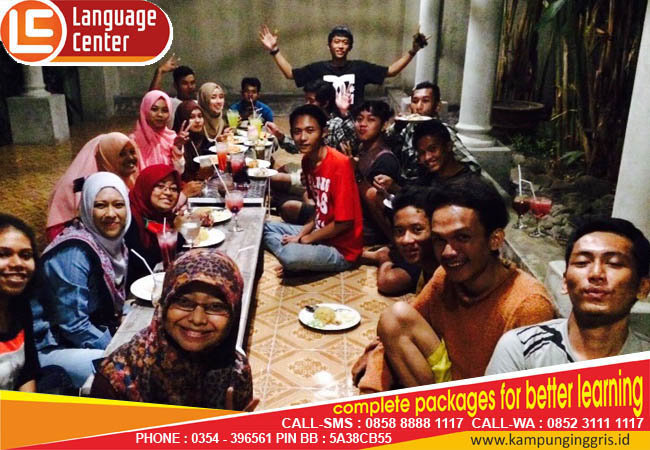 Belajar Bahasa Inggris di LC, Bikin Pingin Lagi dan Lagi (Nandya Kurniawan from Solo)