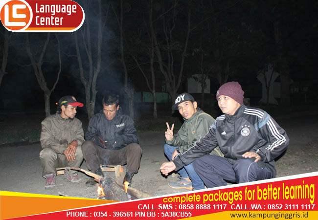 liburan siswa LC kampung inggris