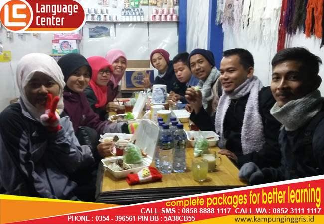 alumni LC kampung inggris alief fiano