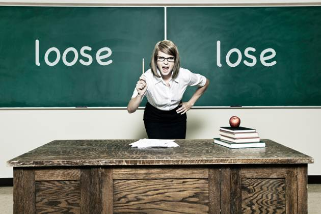 lose vs. loose