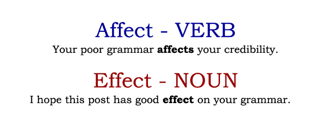 affect vs effect