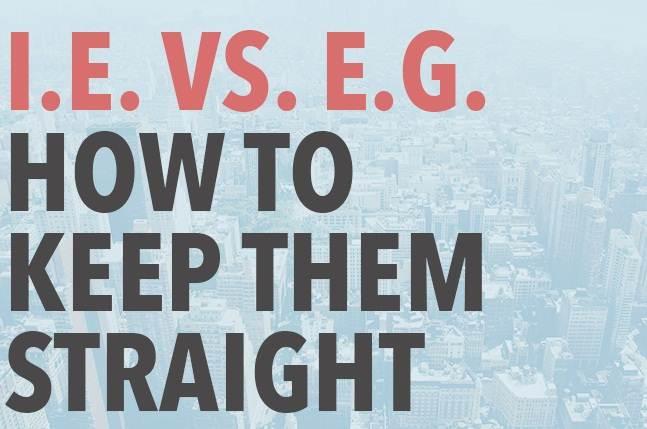 penggunaan i.e dan e.g
