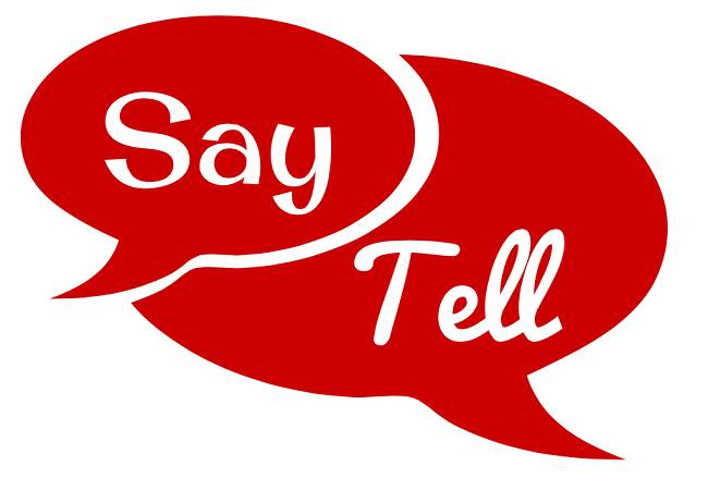 Say vs Tell