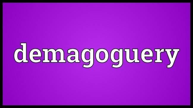 Apa itu Demagoguery