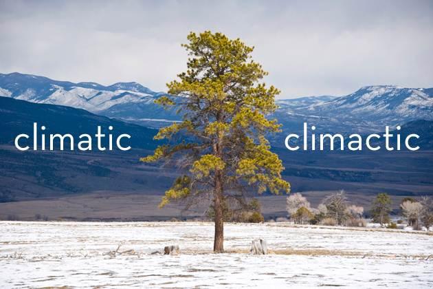 Climatic vs. Clicmatic