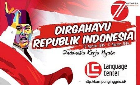 dirgahayu ke 71 indonesia