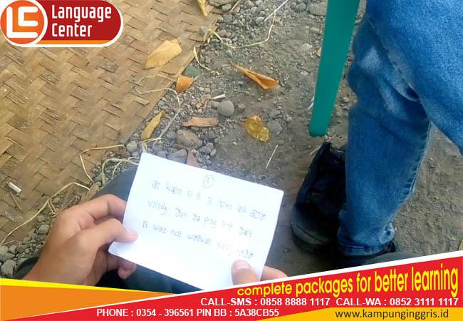 kampung inggris lc pronunciation test