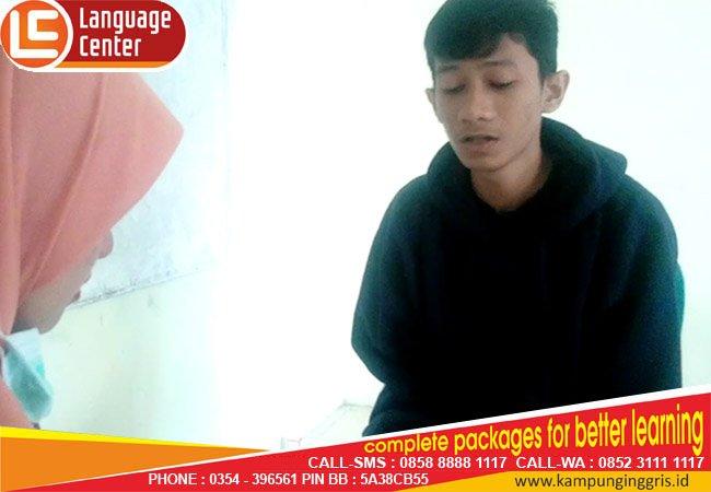 kampung inggris lc speaking test