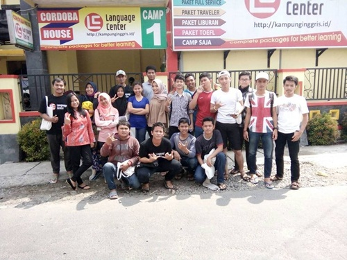 LC is a Good Place for Study English from Basic (Taufik Farisal from Surabaya)