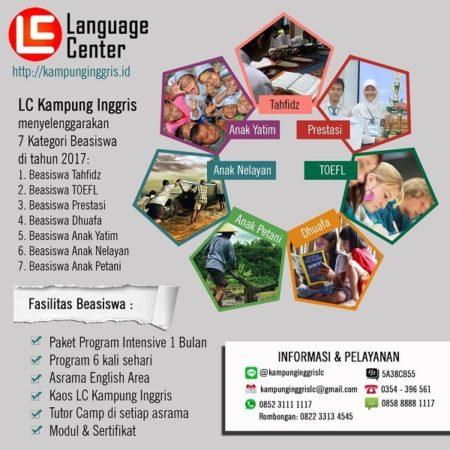 Beasiswa LC Kampung Inggris 2017