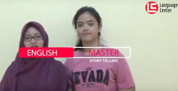 """Story Telling """"Greedy Hippo"""" English Master 2 Kampung Inggris LC"""