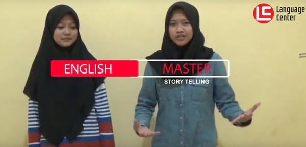 "Story Telling ""The Princess and The Dragon"" English Master 2 Kampung Inggris LC"