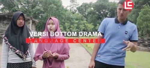 Versi Bottom Drama, Kegiatan Seru Fun Class in Tegowangi Temple Kampung Inggris LC