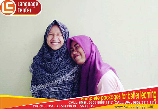 LC changes my opinion about English (Faridatun Nisa from Cilacap)