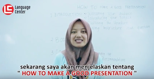 How to Make a Good Presentation, TEATU Kampung Inggris LC