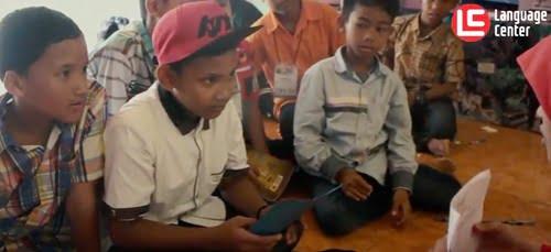 Serunya MI Mujahidin Jombang Belajar Bahasa Inggris Singkat Bersama LC Kampung Inggris Pare