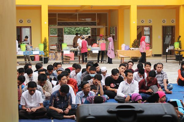 Kebersamaan di Buka Bersama Program Ramadhan Ceria Part II