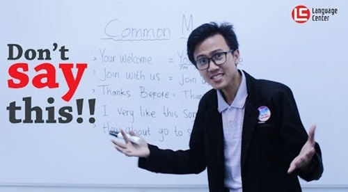 Common Mistakes in Speaking English, TEATU LC Kampung Inggris Pare