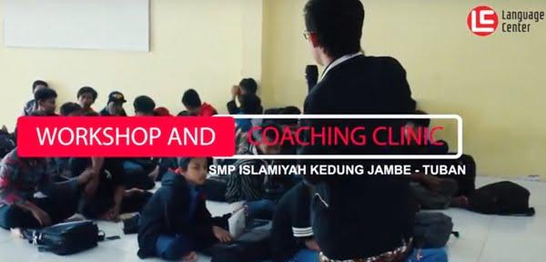 One Day Visit and Coaching Clinic SMP Islamiyah Kedung Jambe Tuban