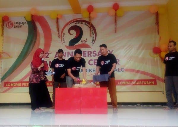 2nd anniversary lc kampung inggris pare