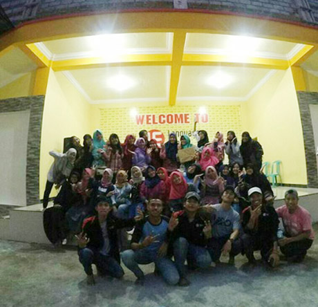 farewell party kampung inggris