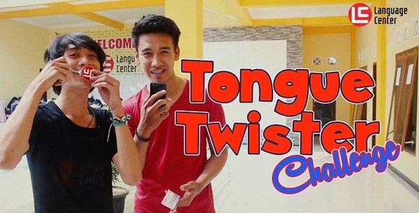 Tongue Twister Challenge Kampung Inggris LC