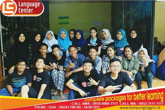 Liburan Bermanfaat Ya Belajar Bahasa Inggris di LC (Hendy Ardihafiz from Mataram)