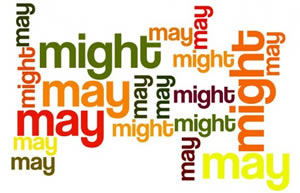 penggunaan may dan might