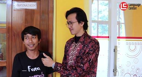 Test Grammar Dadakan Member with Mr Diaz – LC Kampung Inggris