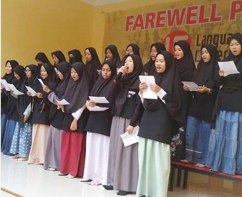 farewell party kampung inggris lc