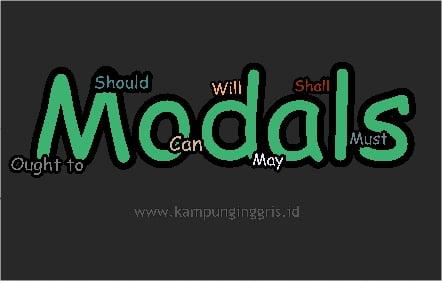 Pemakaian Modals Dalam Bahasa Inggris