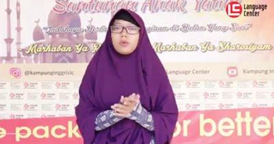 Punishment Menanti Kalo Kamu Tidak Berbahasa Inggris Ketika di Camp (Heni Tri Kartika from Bandung)