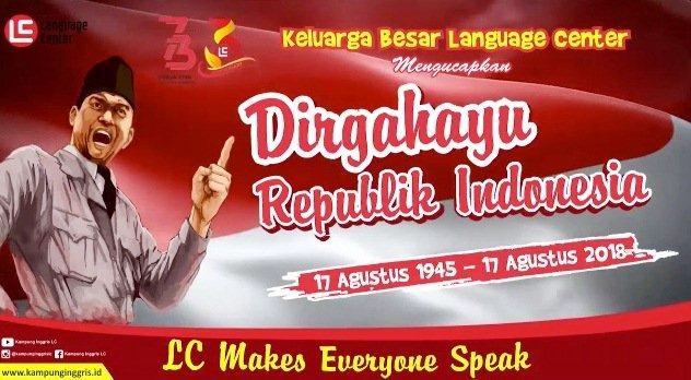 HUT Republik Indonesia ke 73