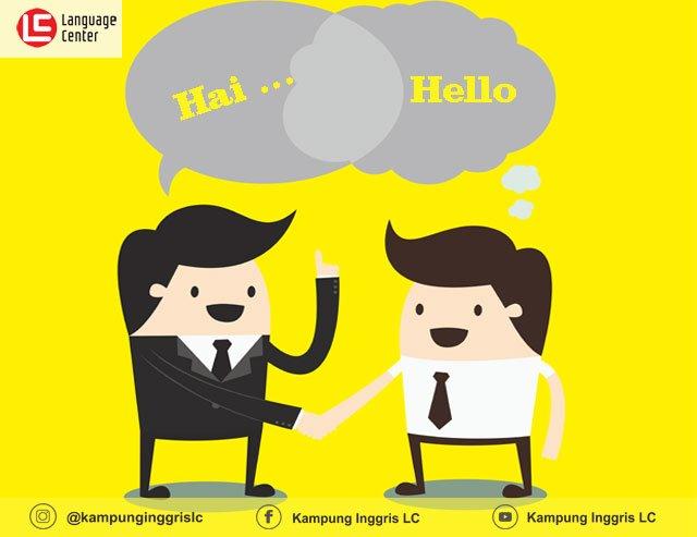 Contoh Greeting Memberi Salam Dan Berpisah Dalam Bahasa Inggris