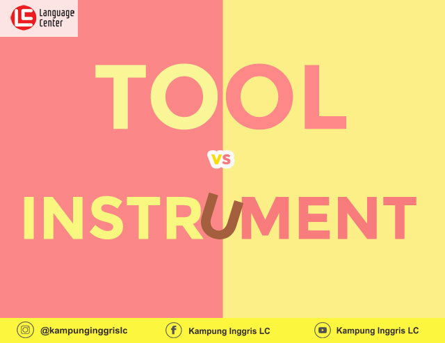 tool vs instrument