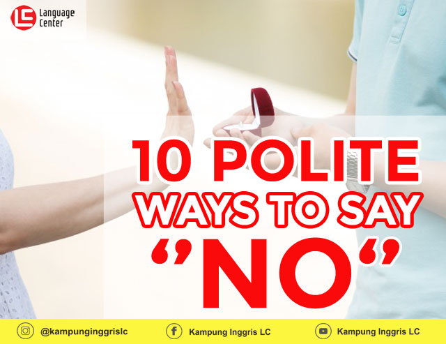Polite Ways To Say No