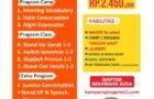 Paket Holiday Kampung Inggris LC Lebaran Ceria 1 BulanNo ratings yet.