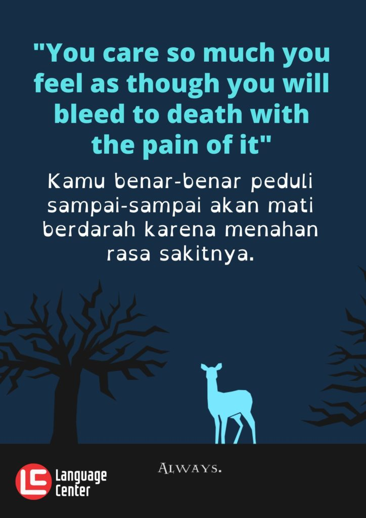 Kutipan 12 - You care so much...