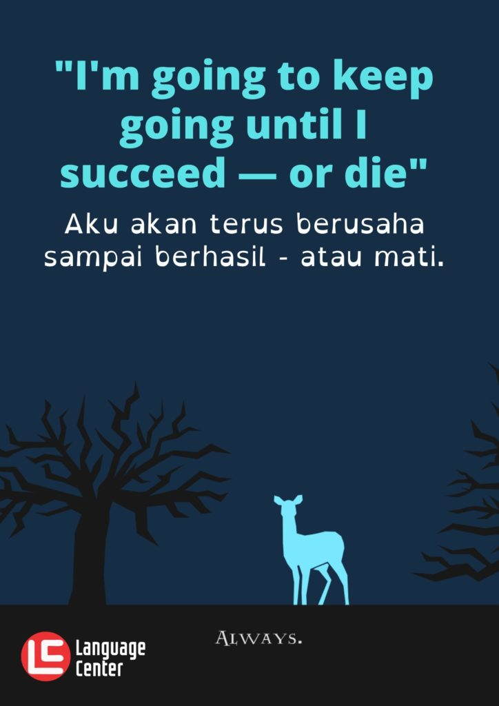 Kutipan 13 - Im going to keep...