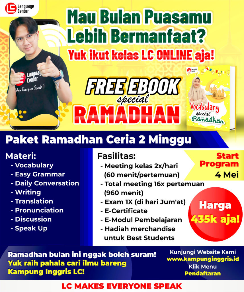Paket Ramadhan Ceria Online 2 Minggu