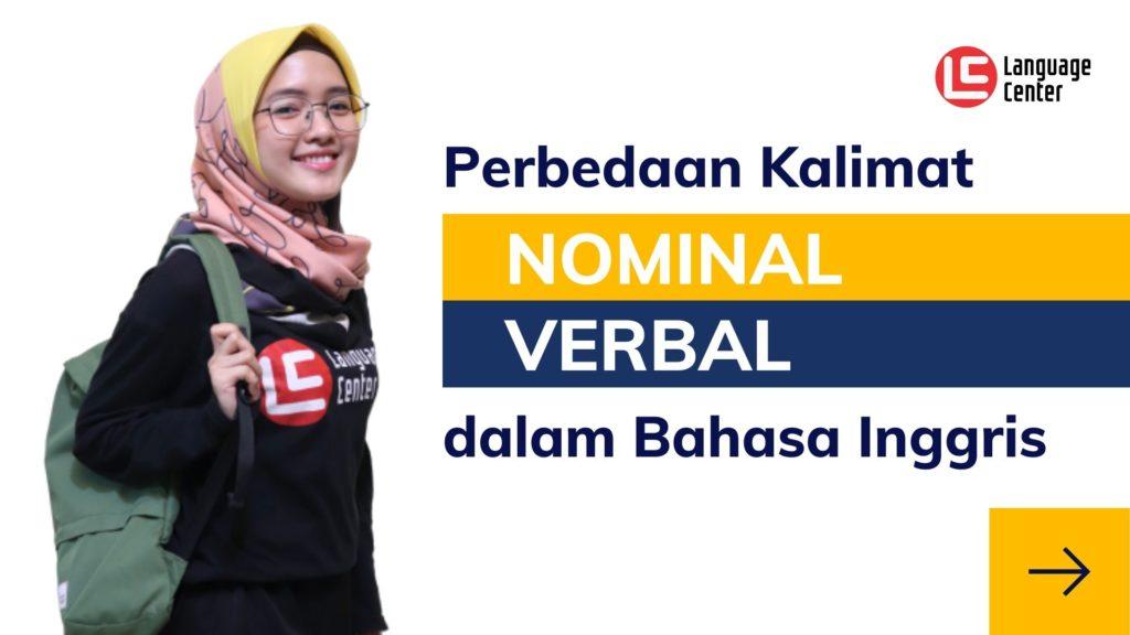 Perbedaan Kalimat Nominal dan Verbal dalam Bahasa Inggris